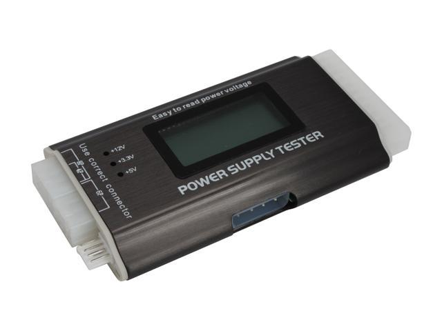 1st pc corp accs pcl1 20 24pin lcd digital power supply tester