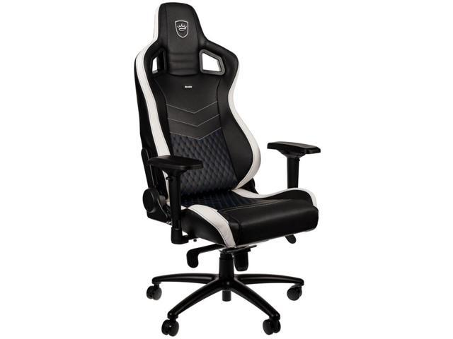 noblechairs EPIC Series Limited Edition Computer Gaming Chair (Black/White/Blue) + $25 Gift Card
