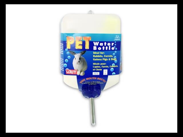 LIXIT 010LXT-RB64 Lixit Wide Mouth Rabbit Water Bottle, 64 oz  - Newegg ca