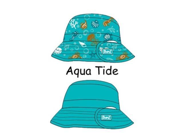 6fff20929 Baby Banz-KHRAT UV Reversible Bucket Hat-Aqua Tide-Ages 2-5 ...