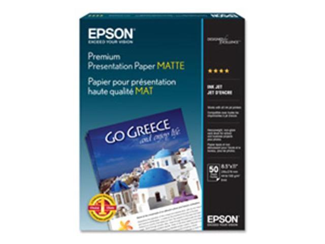 Epson S041257, Epson Matte Heavyweight Inkjet Papers, EPSS041257, EPS  S041257 - Newegg com