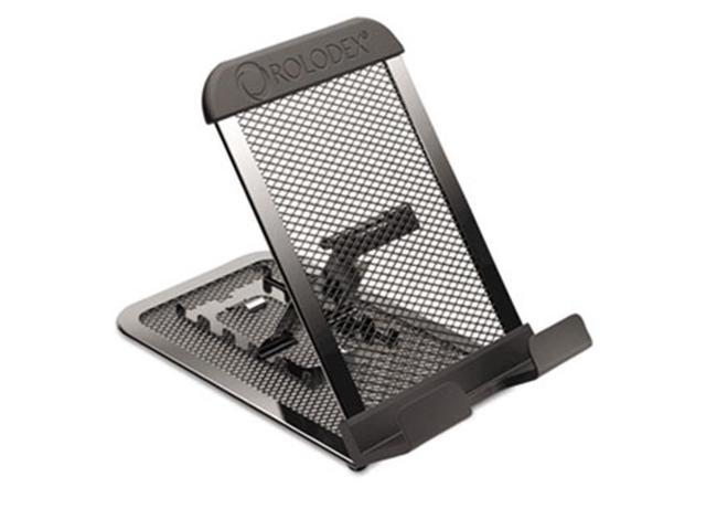 Eldon Office Products 1866297 Adjustable Mobile Device Mesh Stand, Black