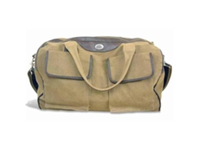 a1c76d4fd959 ZeppelinProducts OSU-BWX1-KHK Ohio State Duffel Bag Waxed Canvas