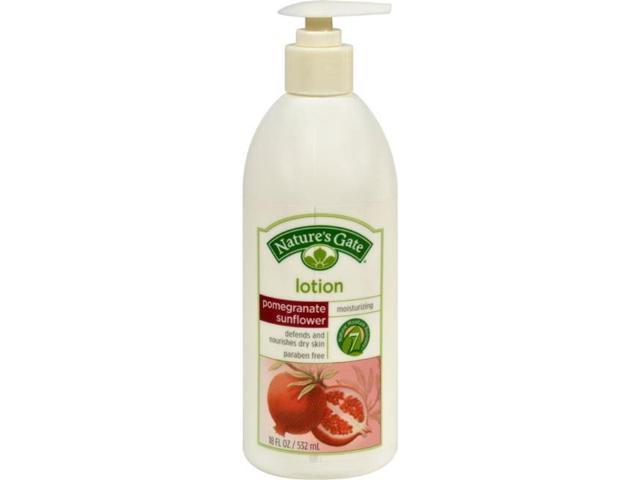Natures Gate Hg0267591 18 Oz Pomegranate Sunflower Lotion