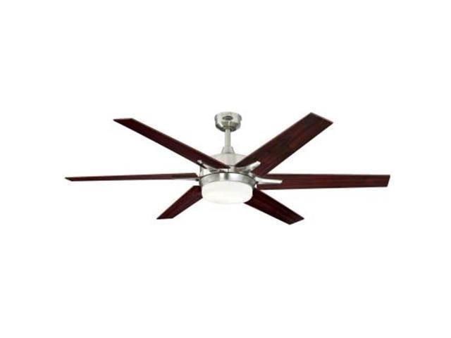 Westinghouse Lighting 7207700 60 In Indoor Ceiling Fan With Dimmable Led Light Kit Newegg