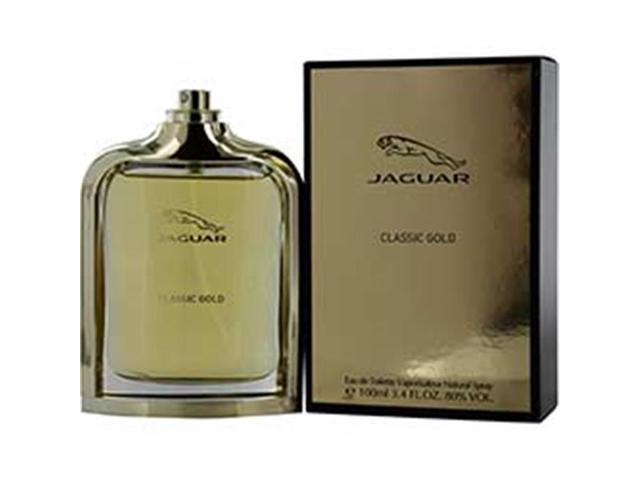 Jaguar 247582 34 Oz Classic Gold Eau De Toilette Spray For Men