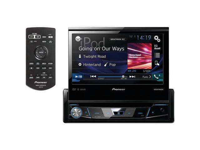 pioneer avh x7800bt 7 in single din dash dvd receiver. Black Bedroom Furniture Sets. Home Design Ideas