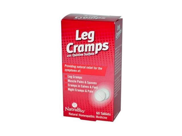 Natrabio HG0737676 Leg Cramps with Quinine Sulfate - 60 Tablets - Newegg com