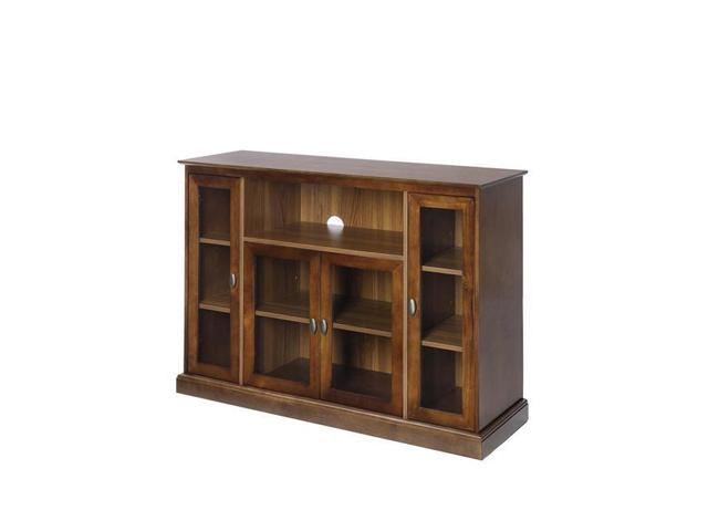 Convenience Concepts 8066036dwn Summit Highboy Tv Stand Dark Walnut