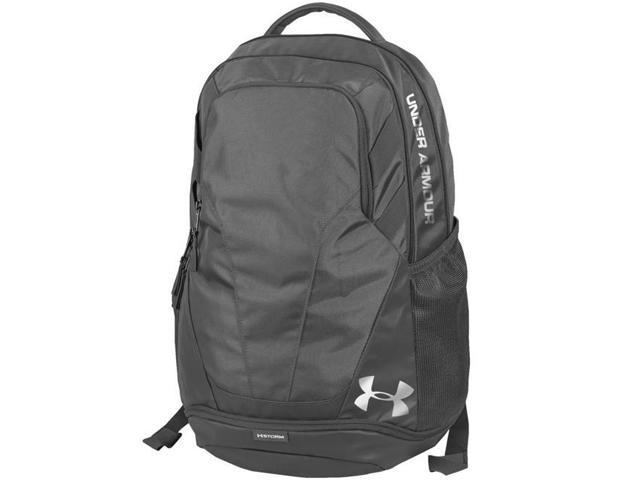 39bc807aca Under Armour 69655 Hustle 3.0 Backpack - Graphite - Newegg.com