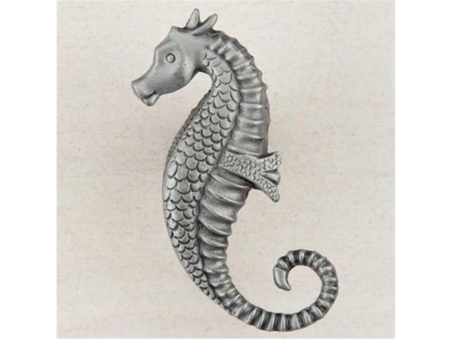 Acorn Manufacturing DPEPP Artisan Collection Seahorse Knob, Antique Pewter  - Newegg com