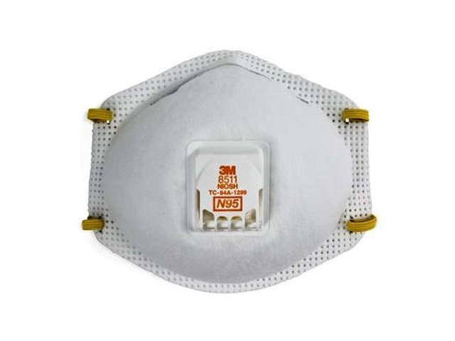 Particulate Respirator 8511 Care Mmm 10 N95 Per Box Health 3m -