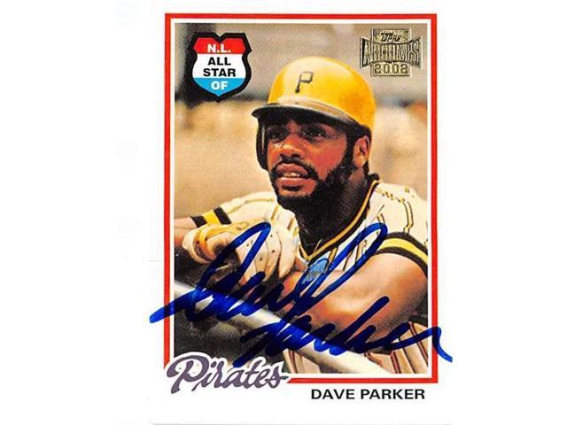 Autograph Warehouse 45019 Dave Parker Signed Baseball Card Pittsburgh Pirates 2002 Topps Archives No 42 Creased Discount Neweggcom