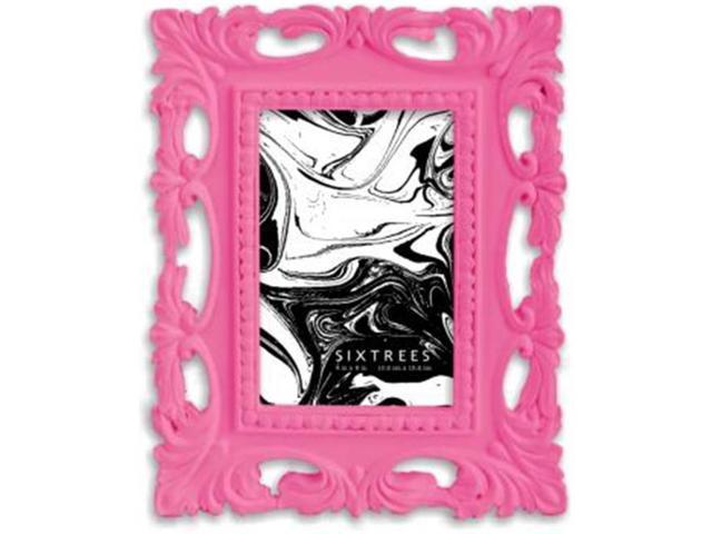 Sixtrees 263046 4 X 6 In Arris Picture Frame Hot Pink Newegg