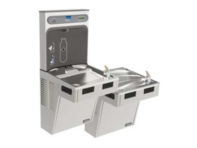 Elkay LMABFTL8WSSK Filtered Ezh2O Bottle Filling Station With Bi - Level  Ada Cooler - Newegg com