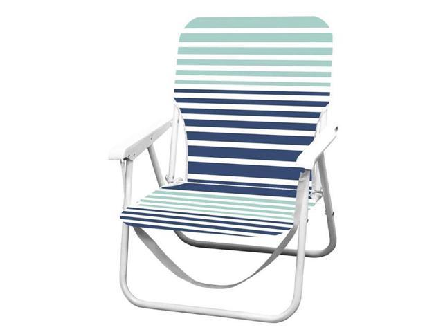 Outstanding Caribbean Joe Cj 7720Hs Folding Beach Chair With Carrying Strap Horizon Stripe Newegg Com Gamerscity Chair Design For Home Gamerscityorg