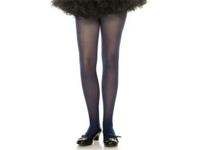 54ab9d5a975 Music Legs 280-NAVY-S Girls Opaque Tights, Navy - Small - Newegg.ca