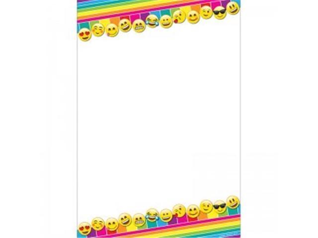 Ashley Productions ASH91008 13 X 19 In Emoji Blank Smart Poly Chart