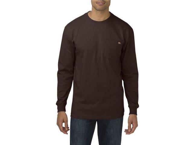313fdfd722a Dickies WL450CB L Mens Long Sleeve Heavyweight Crew Neck T-Shirt