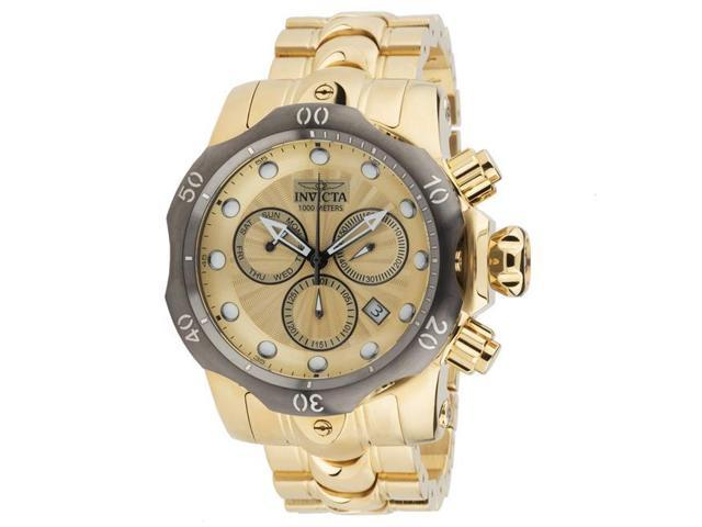 0b2fdf341 Invicta 886678290475 Mens 23894 Venom Quartz Chronograph Gold Dial Watch