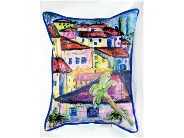 Betsy Drake ZP557 Fun City II Throw Pillow, 20 X 24 In