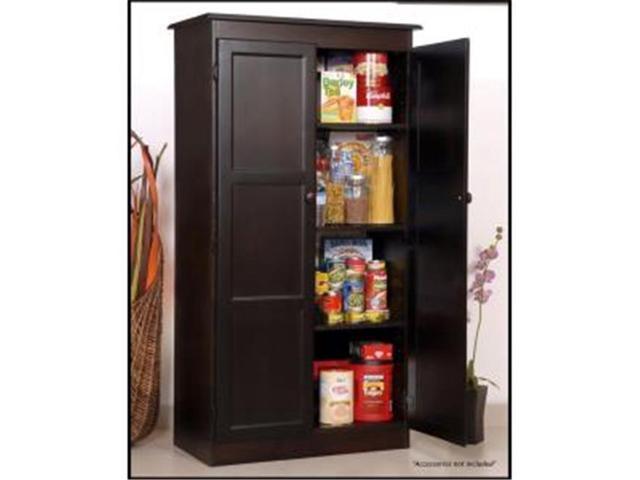 Multi Use Storage Cabinet Espresso