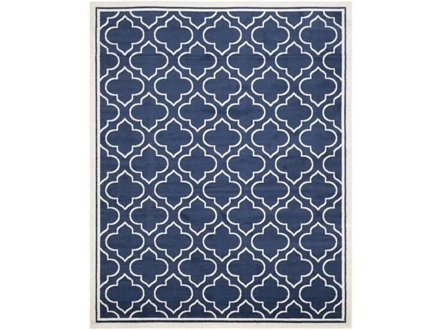 Safavieh Amt412p 1116 Amherst Rectangle Area Rug Navy Ivory 11