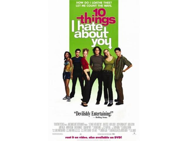 10 Things I Hate About You Movie Poster: Pop Culture Graphics MOV188767 Ten Things I Hate About You