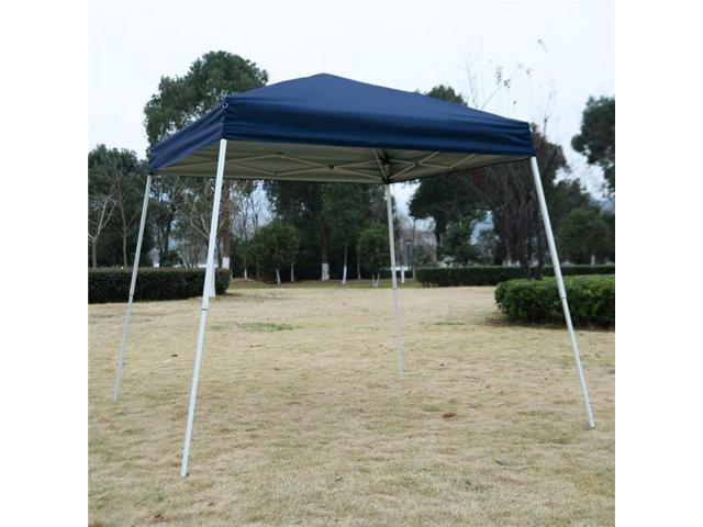 194 & OnlineGymShop CB19144 8 x 8 ft. Outdoor EZ Pop Up Tent Gazebo with Carry Bag - Blue - Newegg.ca