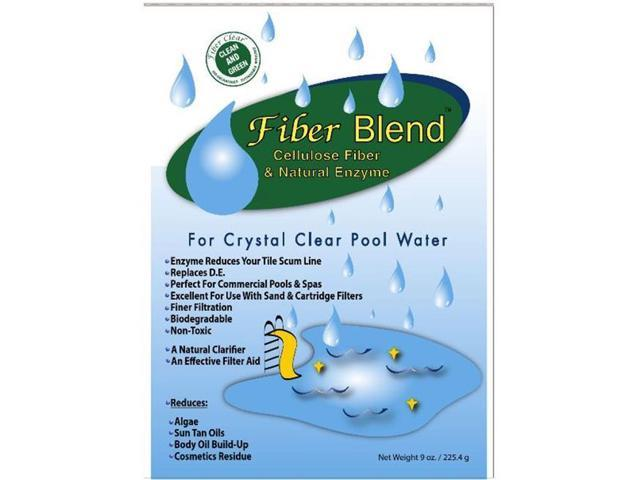 Fiber Clear Crystal Clear Pool Water Blend 1 7 Lbs
