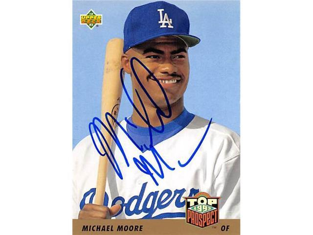 Autograph 157284 Los Angeles Dodgers 1993 Upper Deck Top Prospect No 430 Michael Moore Autographed Baseball Card Neweggcom