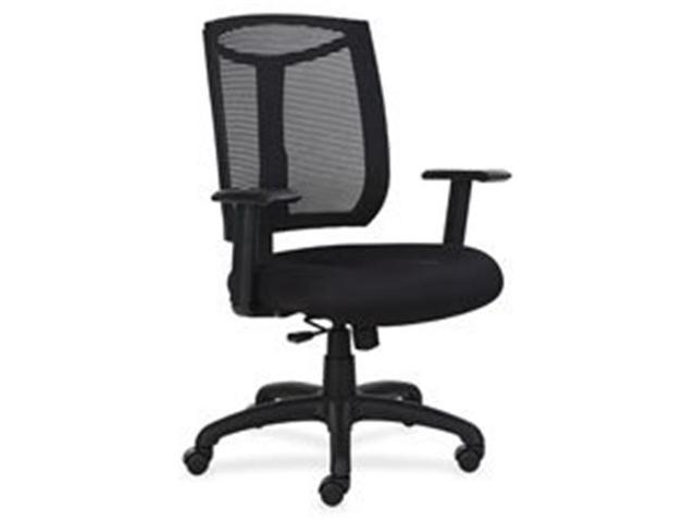Lorell Llr83100 Mesh Back Chair With Air Grid Fabric Seat