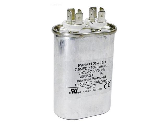 Hayward HPX11024151 Fan Run Capacitor Replacement for Heat Pump - Newegg com