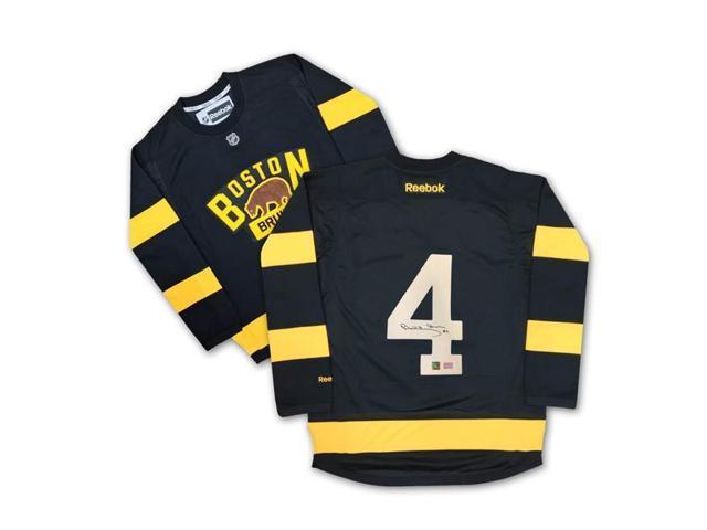 los angeles 94b53 f73d9 Autograph Authentic AAAJH32325 Bobby Orr Autographed Black Winter Classic  Boston Bruins Jersey - Newegg.com