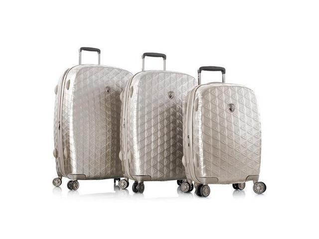 033256266 Heys International 10095-0040-S3 Motif Homme Spinner Luggage, Champagne - 3  Piece per Set