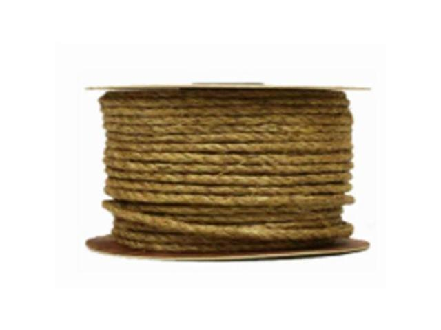 Mibro Group 235076 0 5 in  x 250 ft  Natural Twisted Sisal Rope - Newegg com