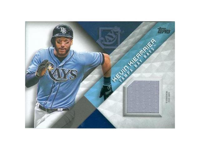 hot sales 6b727 84408 Autograph Warehouse 420896 Kevin Kiermaier Player Worn Jersey Patch  Baseball Card Tampa Bay Rays Gold Glove JCB 2018 Topps No.MLMKK - Newegg.com
