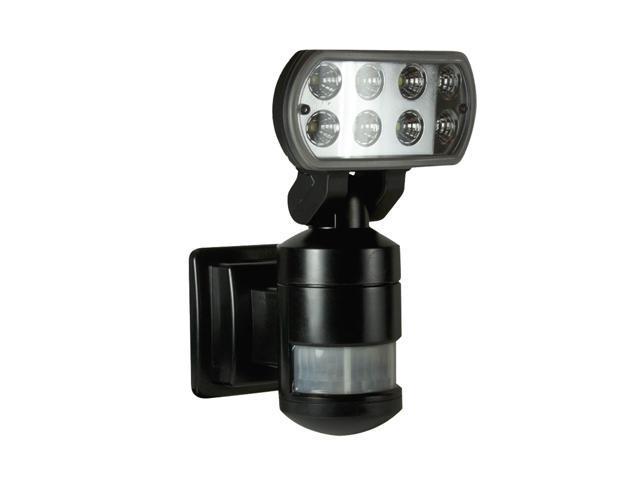 Versonel Nighcher Pro Motorized Led Security Motion Detector Tracking Flood Light Vslnwp502b Black
