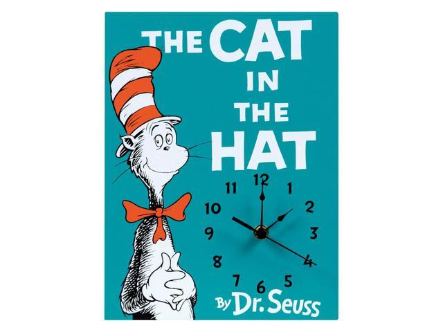 Trend Lab Home Décor Dr Seuss The Cat In Hat Wall Clock