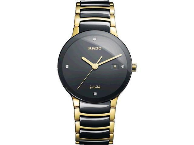 62a8334d4 Rado Centrix Jubile Black Ceramic Mens Watch R30929712 ...