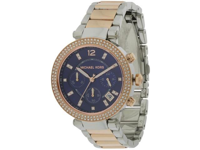 dd74c349da9e Michael Kors Parker Two-Tone Ladies Watch MK6141 - Newegg.com