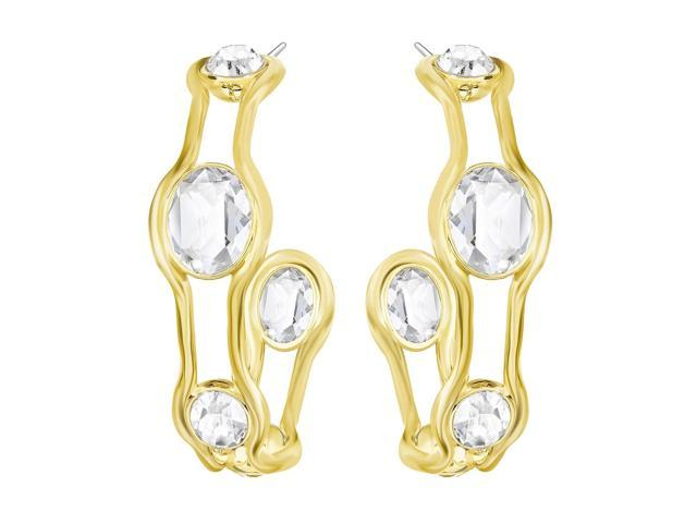 94ff705e6 Swarovski 5224896 Fragment Hoop Pierced Earrings - Newegg.com