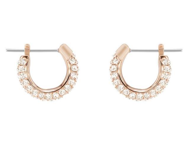 5dd00f538 Swarovski Stone Pierced Hoop Earrings - 5446008 - Newegg.com
