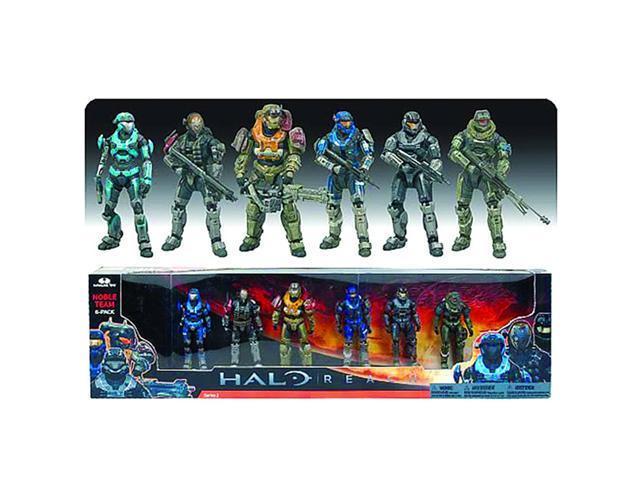 ea2943ad42baa3 Halo Reach Series 5 Noble Team Figure 6 Pack - Newegg.com
