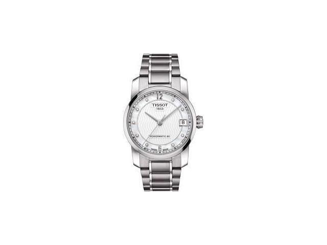 2f87ab737 Tissot T0872074411600 T-Classic Automatic Titanium Ladies Watch ...