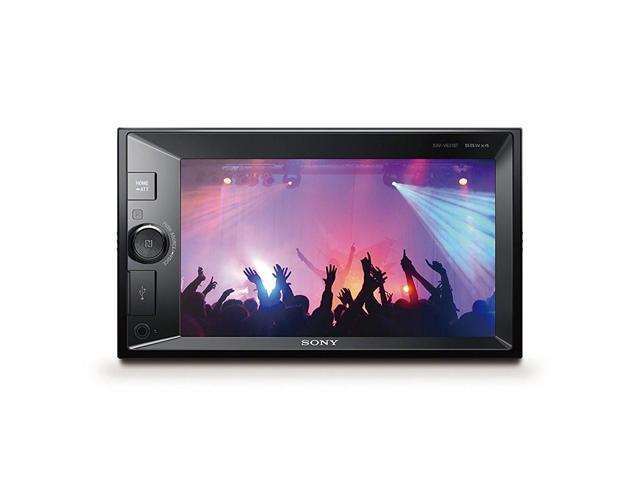 sony xav v631bt 6 2 media touchscreen receiver w. Black Bedroom Furniture Sets. Home Design Ideas