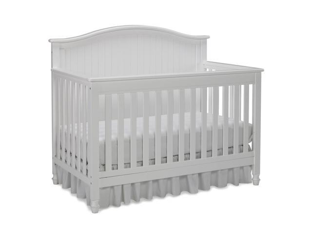 Fisher Price Del Mar Convertible Baby Nursery Crib To Full Bed White