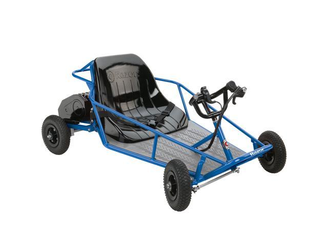 Razor 25143540 Kids Youth Electric Go Kart Dune Buggy Blue Frame