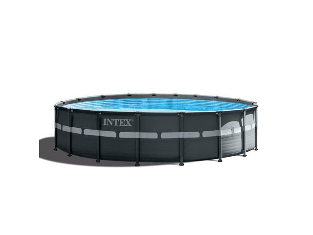 Intex 18 39 x 52 ultra xtr frame round above ground - Intex 18 x 9 x 52 ultra frame swimming pool ...