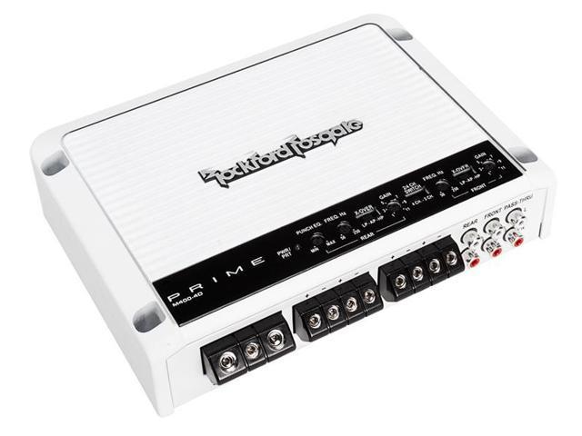 Rockford Fosgate M400-4D 400 Watt 4-Channel Full-Range Class-D Amplifier  Amp - Newegg com